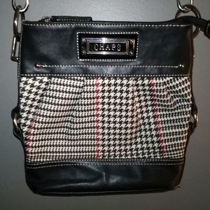 Chaps Herringbone Clutch Mini Purse W/Strap EUC!